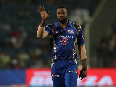 Mumbai Indians' Kieron Pollard. IPL/Sportzpics
