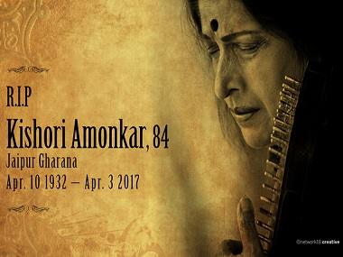 Meeting Kishori Amonkar: Conversing with Tai was just like listening to her music — exhilarating