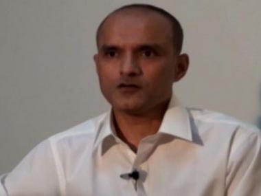 Kulbhushan Jadhav. Image courtesy: CNN-News18