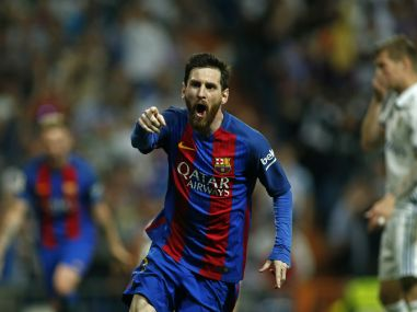 La Liga: Lionel Messi revives Barcelona's title hopes with late winner against Real Madrid in El Clasico