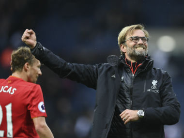 Jurgen Klopp's Liverpool move to third with a 1-0 win against West Brom at the Hawthorns. AFP