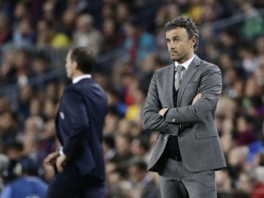Barcelona can turn Champions League pain to El Clasico gain, says manager Luis Enrique