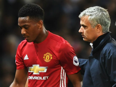 Jose Mourinho maintained he never doubted Anthony Martial's talent. Getty Images