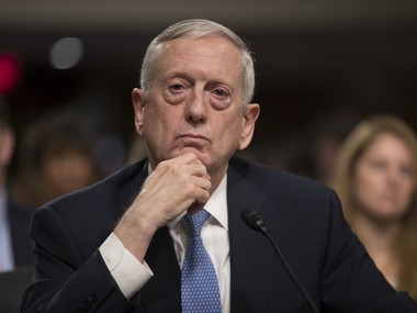 United States not increasing role in Syrian civil war James Mattis