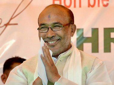 Manipur Chief Minister N Biren Singh. PTI
