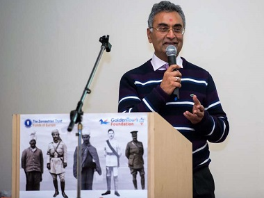 Nitin Palan, who initiated the India1914 project
