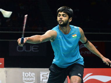 Sai Praneeth says he wants to be fit and focus on the upcoming tournaments. AFP
