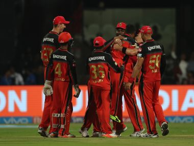 File photo of Royal Challengers Bangalore players. Sportzpics