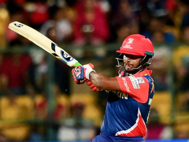 Rishabh Pant exuded bravery in his 57 off 36 balls in a losing effort in the RCB-DD match. PTI