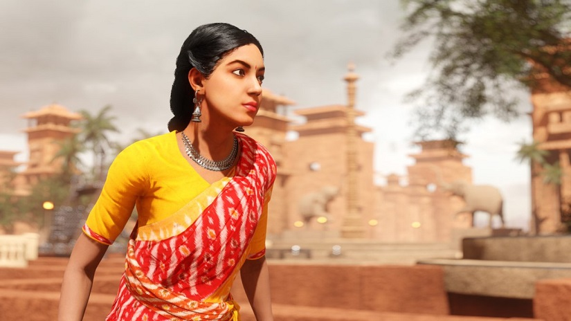 Ritu Varma as Samaya, India's first real-time VR character