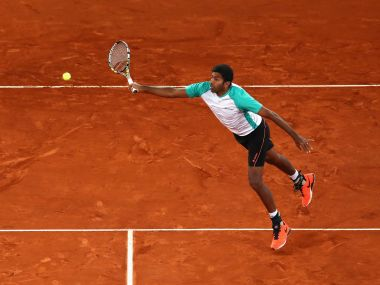 File photo of Rohan Bopanna of India. Getty
