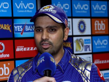MI captain Rohit Sharma praised his bowlers after the win over DD. IPL/SportzPics