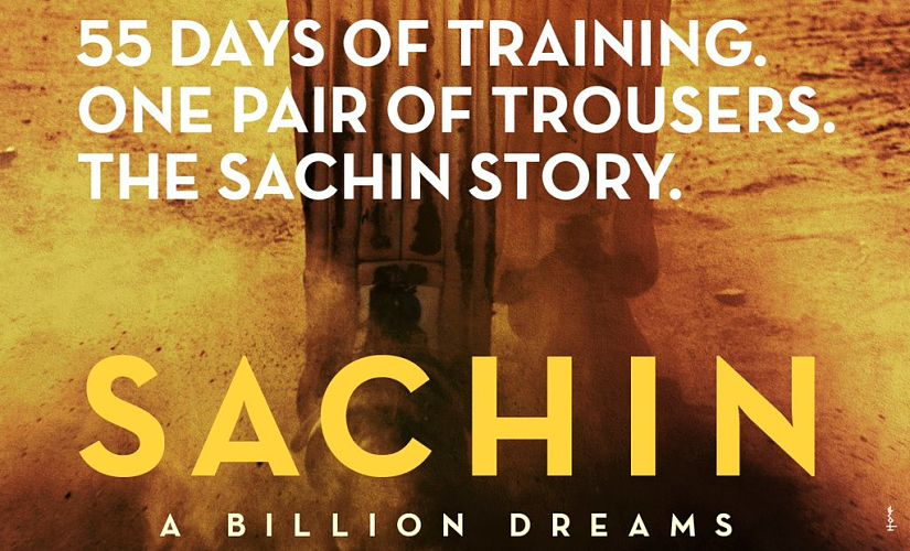 Sachin: A Billion Dreams. Image from Firstpost