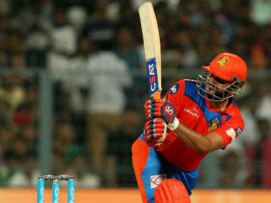 Suresh Raina's quickfire knock guided struggling Gujarat Lions to a four-wicket win over Kolkata Knight Riders. Sportzpics