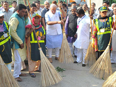 PMO seeks two-year action plan from ministries on flagship Swachh Bharat Abhiyan