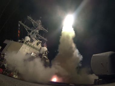 G7 ministers will meet to discuss US missile attack on Syria. AP