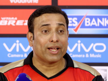 VVS Laxman interacts with the media after Sunrisers Hyderabad's win over Delhi Daredevils on home turf. Sportzpics