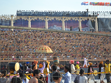 A file photo of the cite where the World Culture Festival was being held. Image courtesy: Firstpost