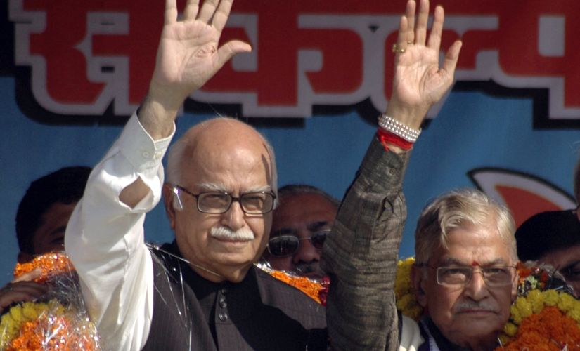 File image of senior BJP leaders LK Advani and Murli Manohar Joshi. Reuters