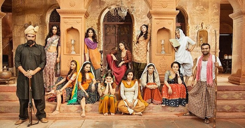Poster of Begum Jaan