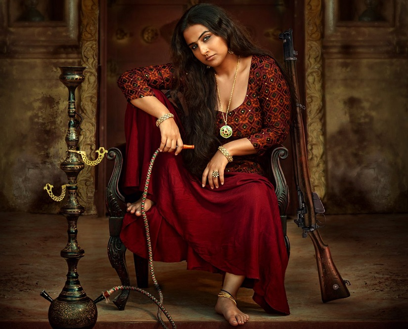 Vidya Balan in and as Begum Jaan