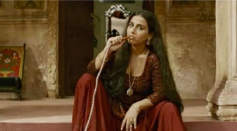 Vidya Balan in and as Begum Jaan