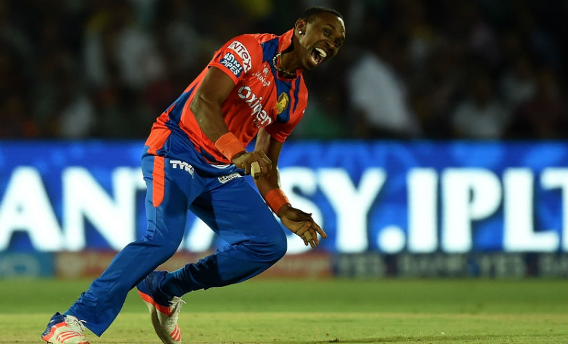 Dwayne Bravo can give you vital breakthroughs and score quick runs. AFP