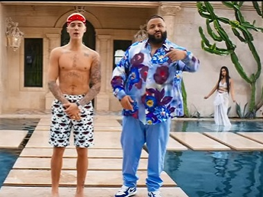 Watch: DJ Khaled's 'Im the One' featuring Justin Bieber, Lil Wayne, Chance The Rapper, Quavo