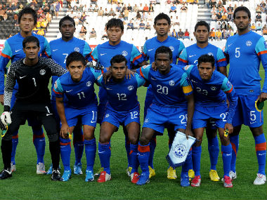 Following a couple of wins in recent times, the Indian football team is now ranked 11th in Asia. AFP