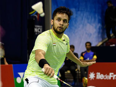 File photo of Parupalli Kashyap. Image courtesy: Twitter/ @parupallik