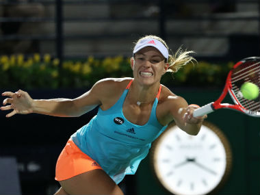 File photo of Angelique Kerber. AFP