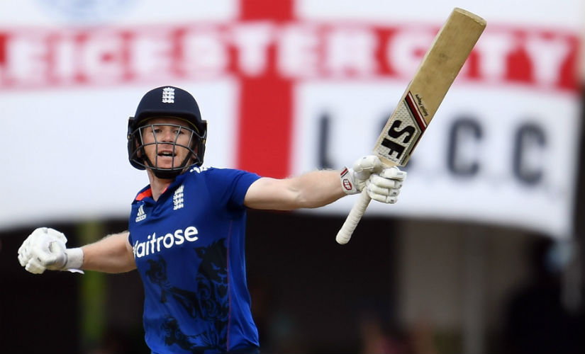 Eoin Morgan is in good form and can really make it count this year in the IPL. AFP