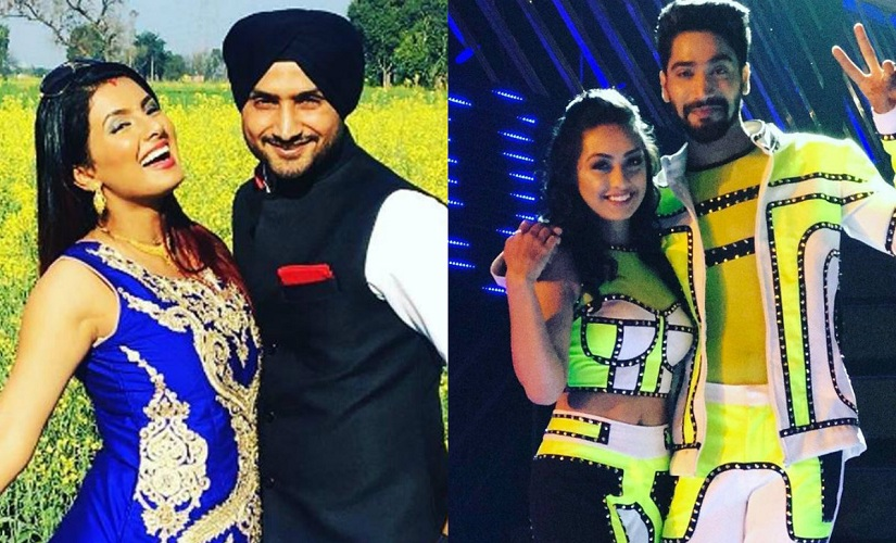Harbhajan-Geeta and Sanam-Abigail were the highlights of this Nach Baliye 8 episode. Images from News 18 and Facebook