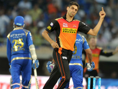 File photo of Ashish Nehra. AFP