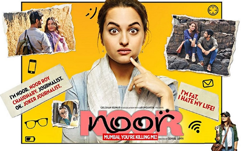 Noor movie review Sonakshi Sinhas film is flawed but its not Akirastyle fake womancentricity