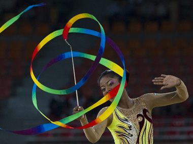 Pooja Surve at Commonwealth Games in 2010. Reuters file photo