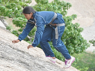 Poorna Malavath: 'My reason for climbing Mt Everest was to prove girls can achieve anything'