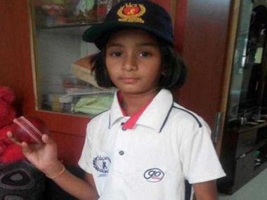 Cricket: Meet Anadi Tagde, a nine-year-old set to play in women's U-19 squad