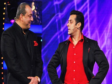 Sanjay Dutt and Salman Khan. File Photo/News 18