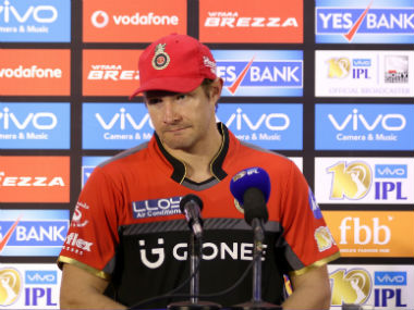 Stand-in RCB captain Shane Watson talks to the media after the loss to SRH in the IPL opener. Sportzpics