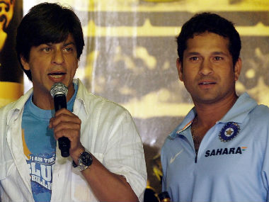 Shah Rukh Khan wishes Sachin Tendulkar for upcoming biopic, gets a philosophical response