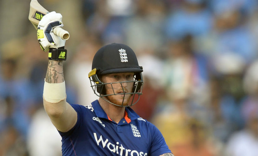 Stokes had been in fine form for England during the tour of India in all three formats, both with bat and ball. AFP