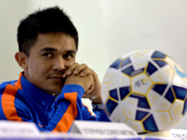Indian captain Sunil Chhetri hopes nation builds on momentum generated by hosting FIFA U-17 World Cup