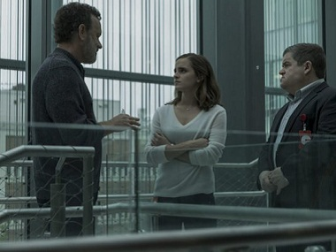 Tom Hanks and Emma Watson in The Circle. Image Via Facebook