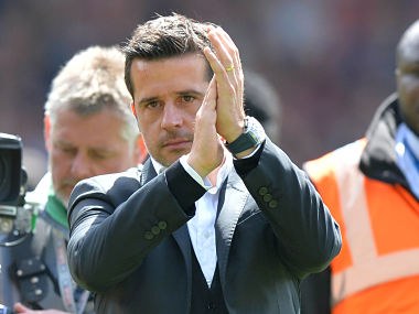 Hull City's Portuguese head coach Marco Silva reacts at the close of the English Premier League football match between Crystal Palace and Hull City at Selhurst Park. AFP