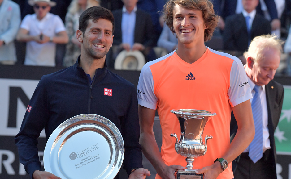 Alexander Zverev and Elina Svitolina win biggest titles of careers at Italian Open