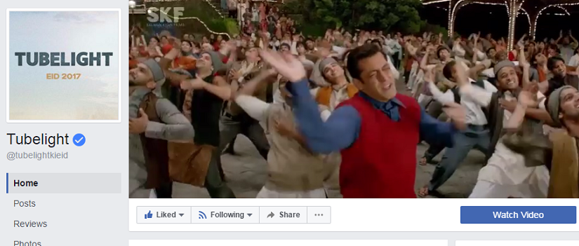 Tubelight becomes first Bollywood film to get a Facebook cover video
