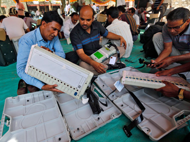 EVM challenge  only Nationalist Congress Party interested says EC