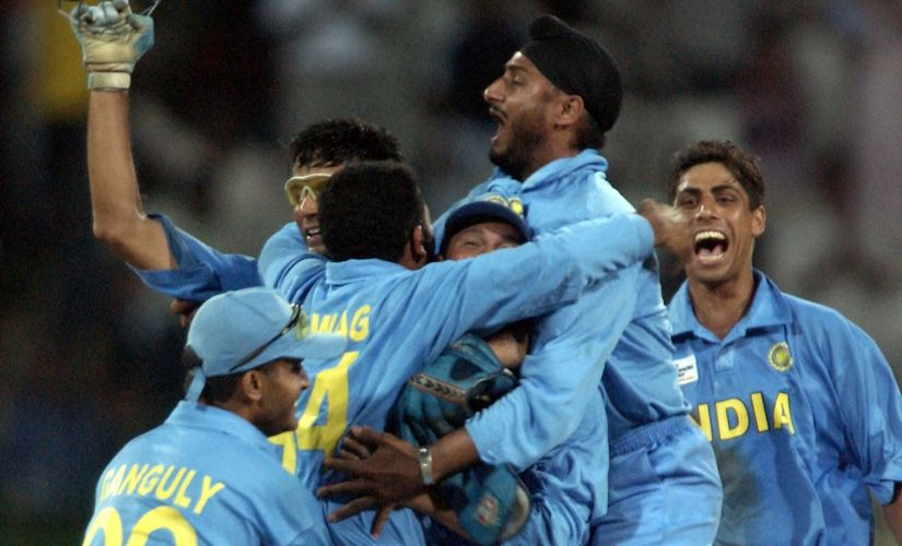 ICC Champions Trophy 2002 Throwback to when India and Sri Lanka shared top honours