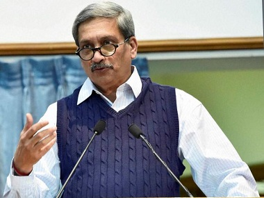 Congress seeks disqualification of Goa CM Manohar Parrikar